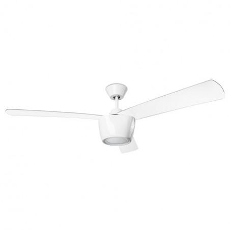 Ventilatore a soffitto con luce Led Leds C4 Ceos