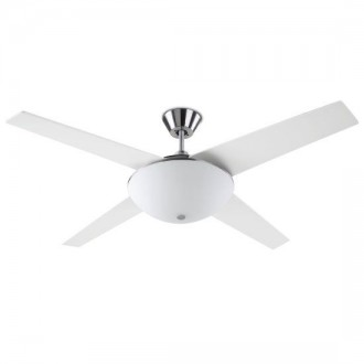 Ventilatore a soffitto con luce Led Leds C4 Aukena