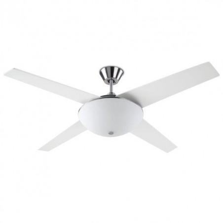 Ventilatore a soffitto con luce Led Leds C4 Aukena