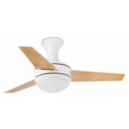 Ventilatore da soffitto con luce Faro Barcelona Mini Ufo