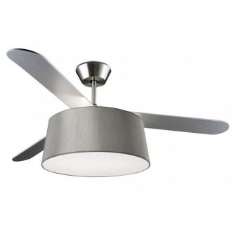 Ventilatore a soffitto con luce Led Leds C4 Belmont