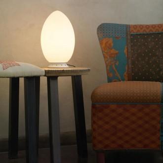 Lampada da tavolo Fontana Arte Uovo (piccola)