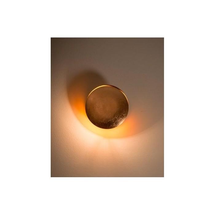 Lampada da parete Catellani & Smith Lederam (diam.17cm)|Brillaluce.it