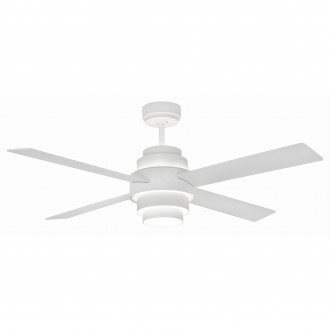 Ventilatore da soffitto con luce Faro Barcelona Disc Fan Led