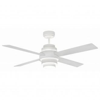 Ventilatore da soffitto con luce Faro Barcelona Disc Fan Led
