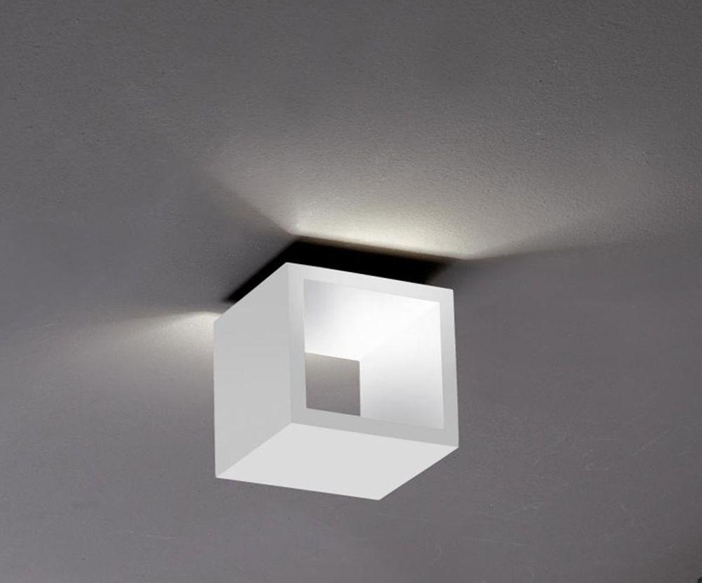 Plafoniere Da Soffitto Flos : Lampada da soffitto o parete icone cubÒ 1.5