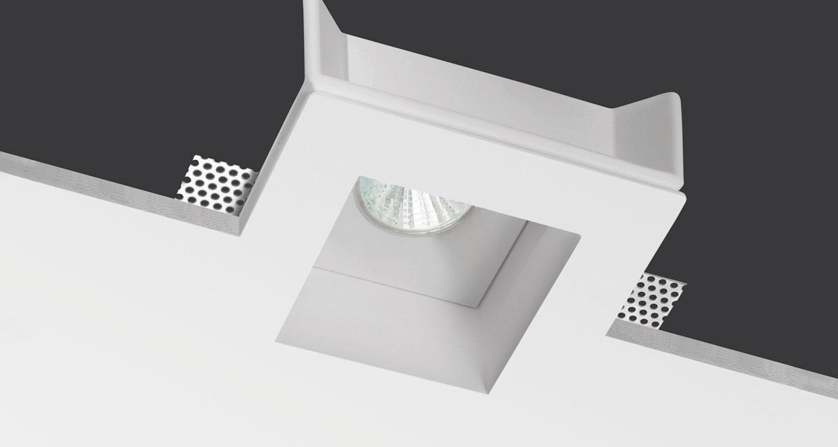 Faretto incasso a led da esterno buzzi buzzi idrout ip