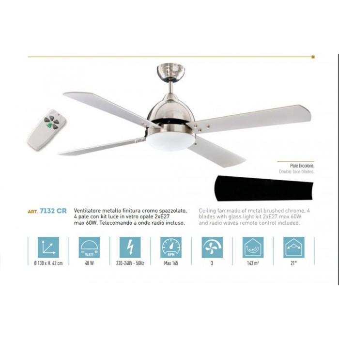 Ventilatore a soffitto perenz mod. 7132