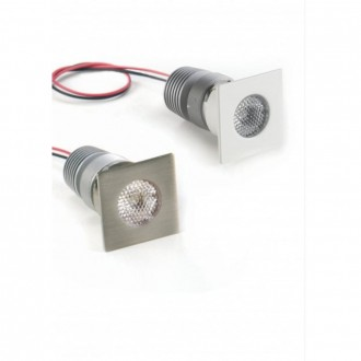 Faretto a LED incasso quadrato Egoluce Pix