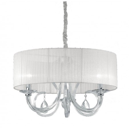 Lampadario a sospensione Ideal Lux Swan SP6