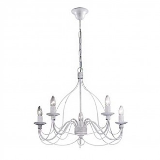 Lampadario Ideal Lux Corte in Metallo