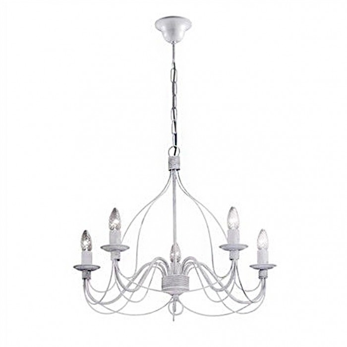 Lampadario Ideal Lux Corte in Metallo Brillaluce.it