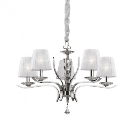 Lampadario Ideal Lux Pegaso SP5