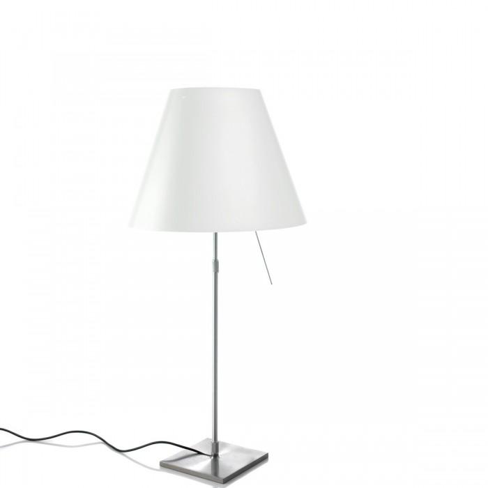 Lampada da tavolo  Luceplan Costanza Alluminio