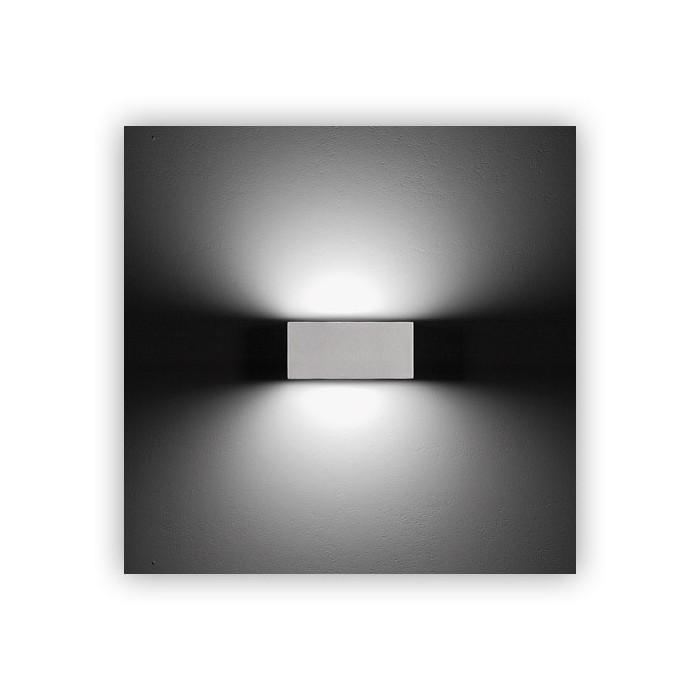Lampada da parete da esterno ares midna biemissione for Luci x esterno