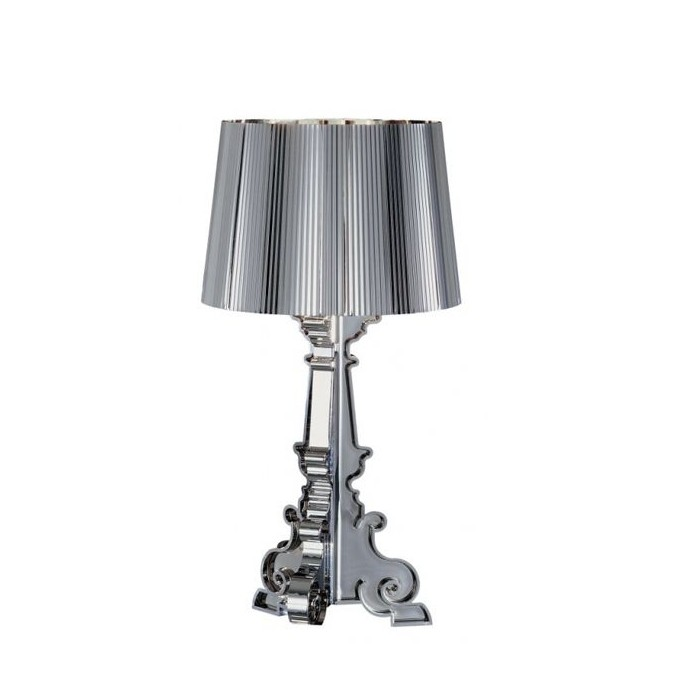 Lampada da tavolo Kartell Bourgie argento