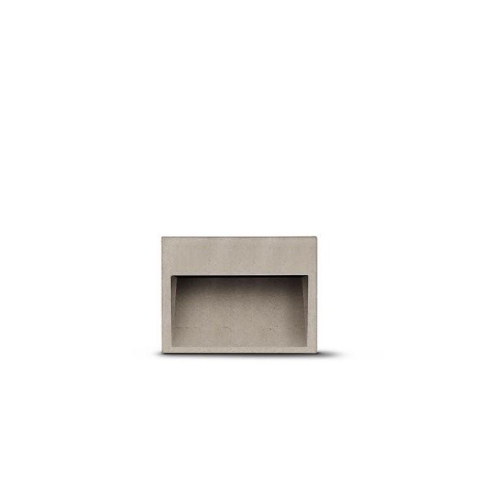 Paletto Concrete LED Simes per esterni Altezza 250mm