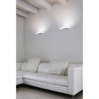 Lampada da parete Dublight_W Linea Light (medium 13W)