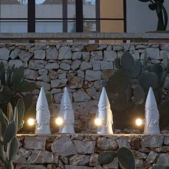 Lampada da terra LED per esterni Karman Ottavo
