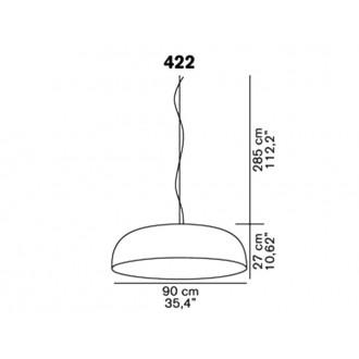 Lampada a sospensione Oluce Canopy 422