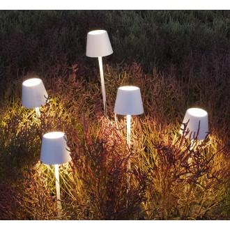 Lampada da tavolo LED a batteria - portatile Poldina Pro Mini di Zafferano