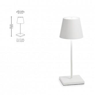 Lampada da tavolo LED a...